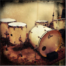 Gretsch Drumkit in Future Legends Studio
